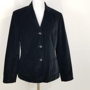 Nine & Company Size 10 Womens black Velvet